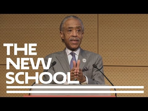 Al Sharpton on Social Justice Today: The 2017 Henry Cohen Lecture Series | The New School