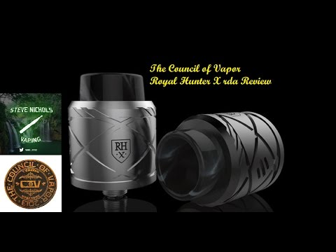Royal Hunter X RDA From The Council of Vapor