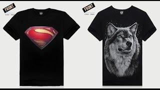 Посылка с Китая, AliExpress! Две прикольные футболки!(, 2015-06-27T18:41:59.000Z)