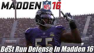 Best Run Defense In Madden 16 | Stops Every Run - Even Tosses! | Madden 16 Tips | Quarter Normal