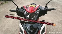 SYM SPORTBONUS SR115 : WALKAROUND   MOTOSIKAL PERTAMA SAYA😉