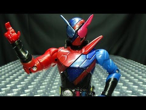 Kamen Rider Build Bottle Change Rider Series BUILD RABBIT TANK FORM: EmGo's Reviews N' Stuff
