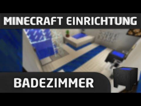 Minecraft Einrichtung: Badezimmer