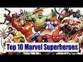 Top 10 Marvel Superheros