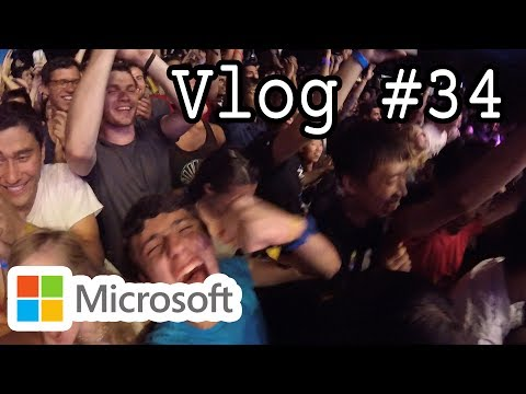Vlog #34 - Signature Event 2016 Ellie Goulding | Internship con Microsoft