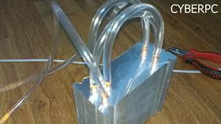 Deneysel CPU Sıvı Soğutma Sistemi   Kaynamış Suyu 90 C° den 15 C° ye Soğuttuk