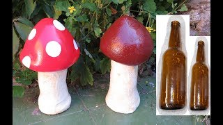 как сделать декоративный гриб