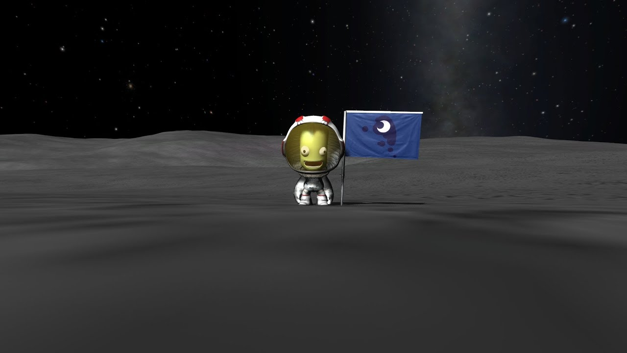 Kerbal Space Program HAVE YOUR OWN FLAG!!! (Tutorial) (No ...