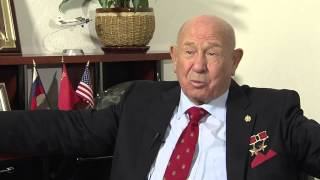 Russian Space Pioneer Discusses the First Spacewalk in History 50 Years Ago