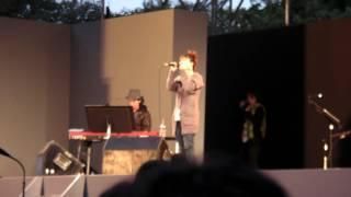 広島フードフェスティバル2009に出演していた熊木杏里さんです。