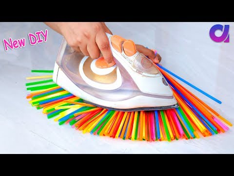 10 New Amazing Drinking Straw Crafts ideas | Best out of was