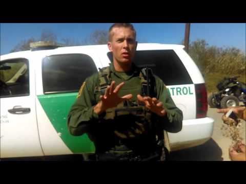 Encounter with SD Border Patrol