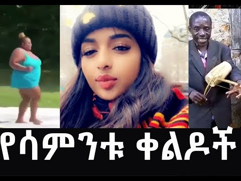 የሳምንቱ አስቂኝ ቀልዶች  funny Ethiopian vine comedy