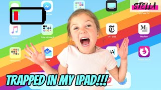 Stella Gets Trapped in the iPad