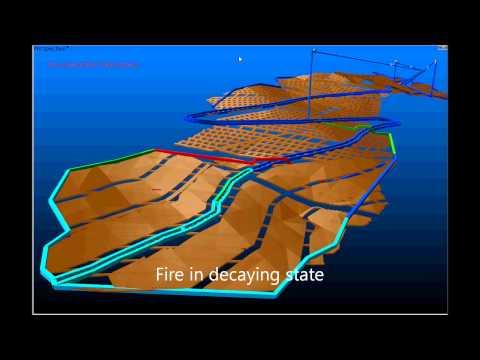 VUMA-3D Underground fire simulation