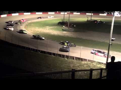 2015 Lee Schuler Memorial Late Model feature Grundy County Speedway 9/6/15