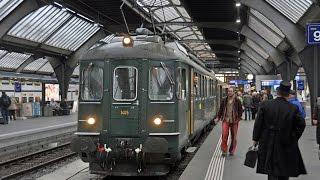 SBB RBe 4/4 #1405 Cabride Zurich - Landquart Part 2