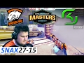 Snax POV 27-15 CS:GO - Virtus Pro vs SK [Train] DreamHack Masters Las Vegas 2017