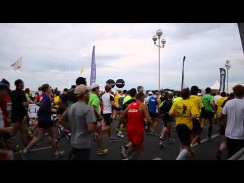 Images de la journée - Marathon de Nice 2013