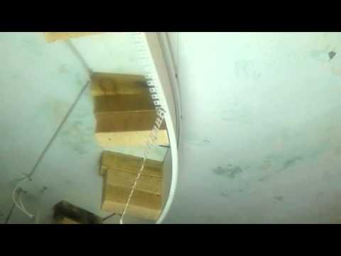 видео: 9 Двухуровневые потолки Крепеж багета для второго уровня