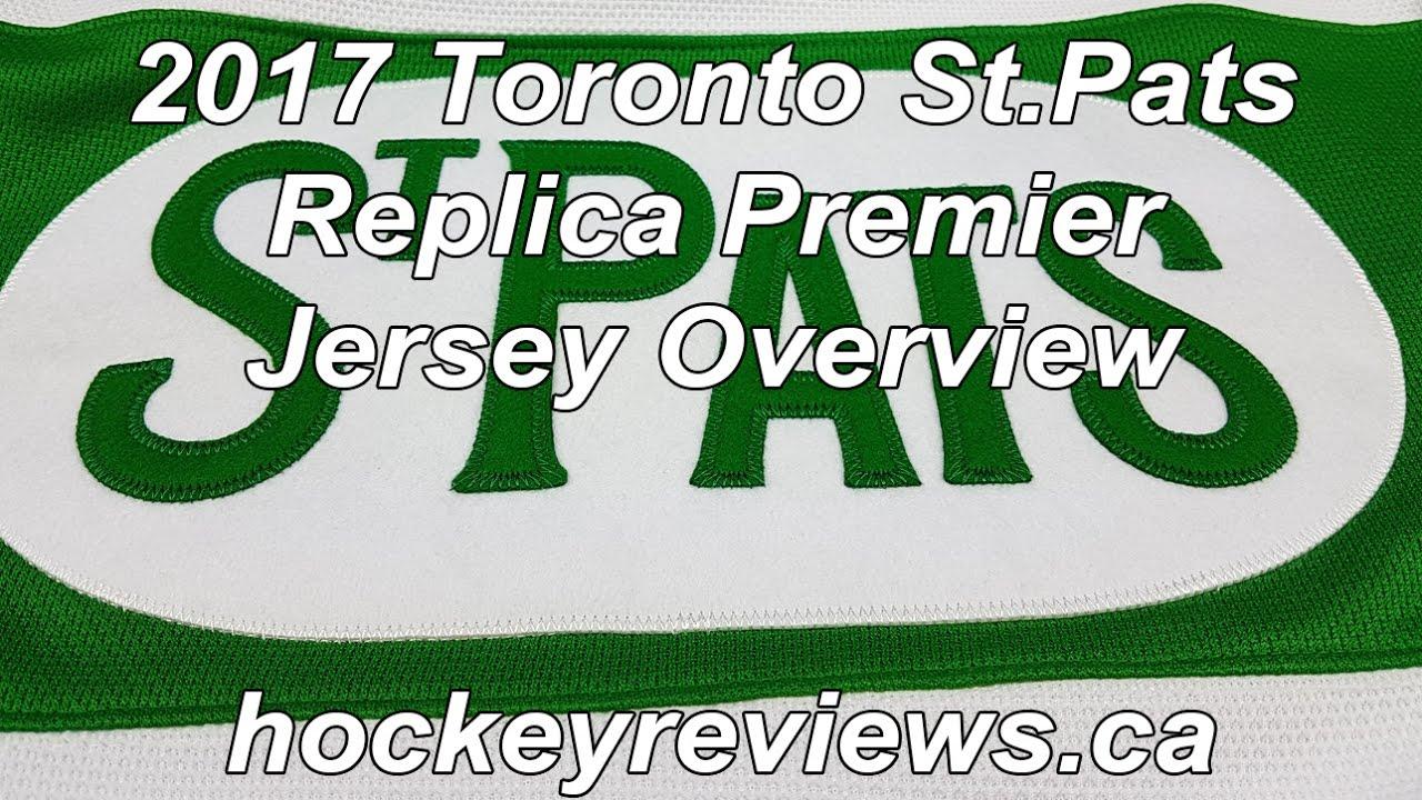 best website d6cfa 23b62 Toronto Maple Leafs St.Pats 2017 Reebok Replica Premier Hockey Jersey Review