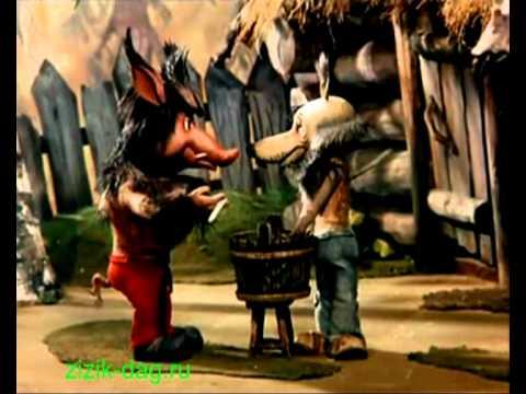 Волк и теленок мультфильм на лезгинском
