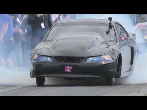 Boost12 Twin Turbo Cobra wins the small tire class at No Prep Mayhem