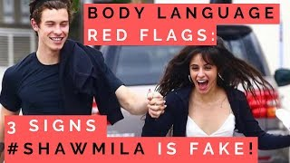 HOW TO READ BODY LANGUAGE: 5 Signs Shawn Mendes & Camila Cabello's PDA Romance Is FAKE!