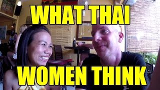 What Thai Women Think V266