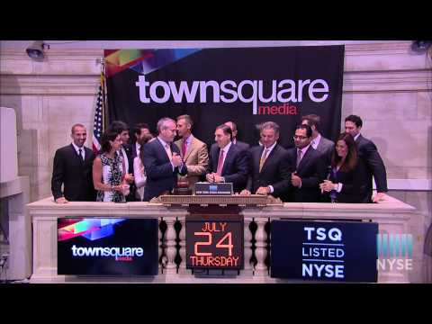 Townsquare Media, Inc. Celebrates IPO on the New York Stock Exchange