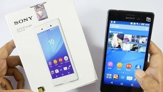 Sony Xperia M4 Aqua Unboxing & Hands On Overview