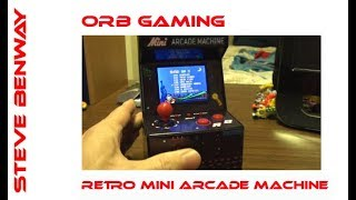 Orb Retro Mini Arcade Machine - System Review