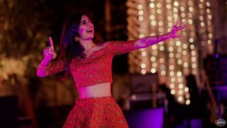 Wedding mashup by Jankee Feat. Arpan Sangeet choreography.