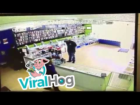 Smash and Grab Security Footage