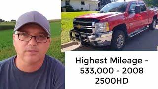 Top 5 Trucks That Last 400,000 Miles