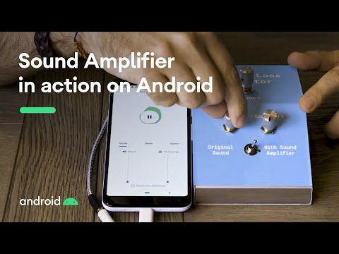 Sound Amplifier in Action on Android