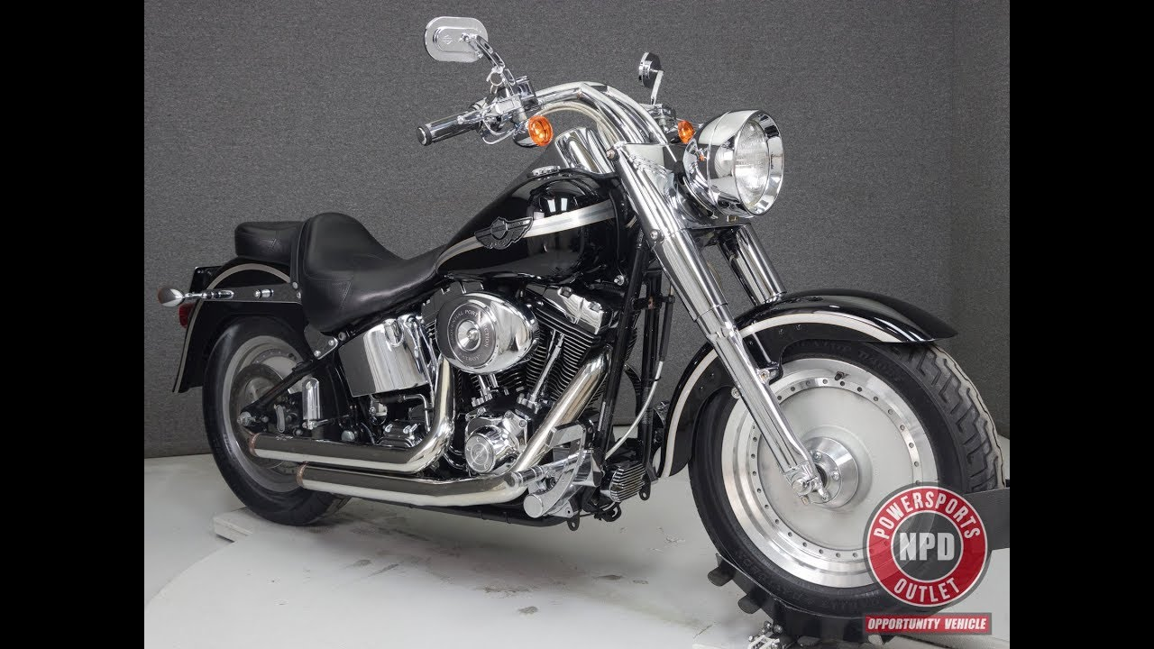 2003 Harley Davidson Flstfi Fat Boy 100th Anniversary National