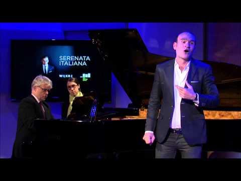 Michael Fabiano sings