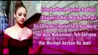 Dard Dilo Ke Kam Ho Jaate karaoke with lyrics by jaBir aLi aMeeNa