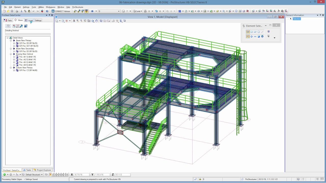 ProSteel - 08 - Fabrication drawings