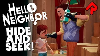 HELLO NEIGHBOR HIDE AND SEEK Gameplay Prequel Alpha Demo PC Game