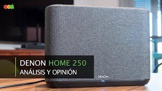 Altavoz Denon Home 250 · Análisis y opinión