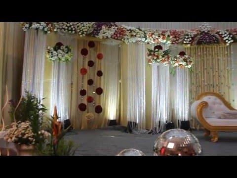 Luxury Wedding Stage Decoration Youtube