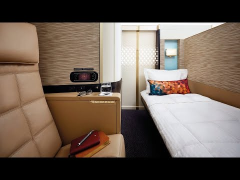 Etihad Airways A380 First Class Apartment From Paris To Abu Dhabi (AMAZING!)