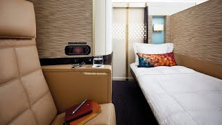 Etihad Airways A380 First Class Apartment from Par...
