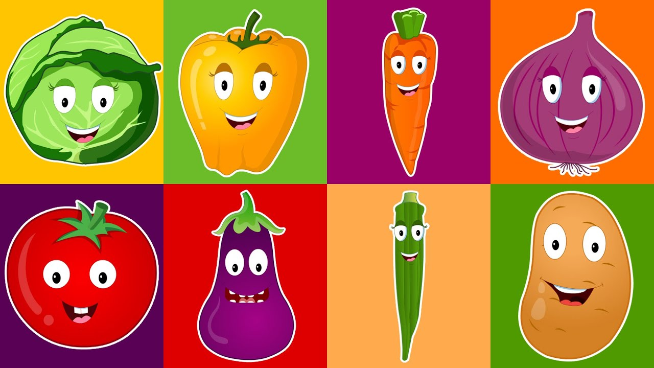 Vegetable Song For Kids Vegetables We Love You