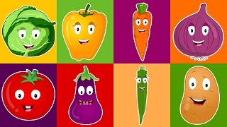 Vegetable Song For Kids | Vegetables, We Love You! | Nursery Rhymes For Children
