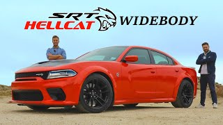 2020 Dodge Charger SRT Hellcat Widebody Review // Four Door Fury