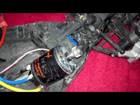 Testing Novak Rockstar 35T motor and Eiger Pro ESC.