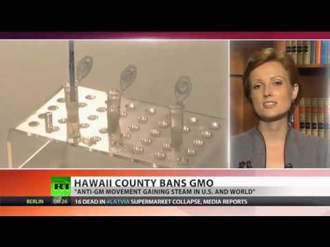 BBC Silent - No GMO in Hawaii - unlike in UK, forward-thinking Hawaii gov. bans biotech companies
